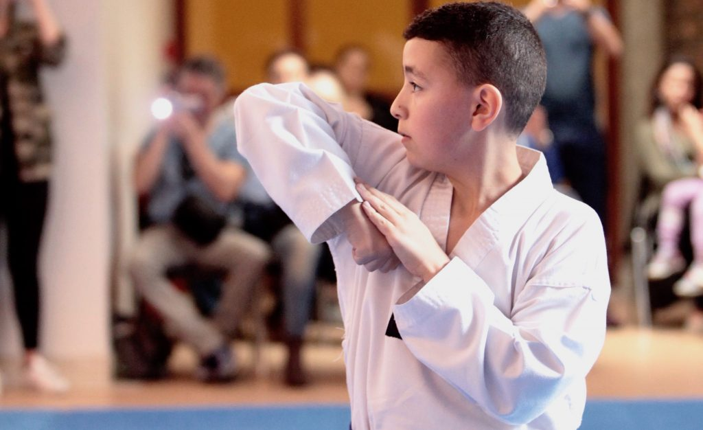 Club Dojang Paris taekwondo