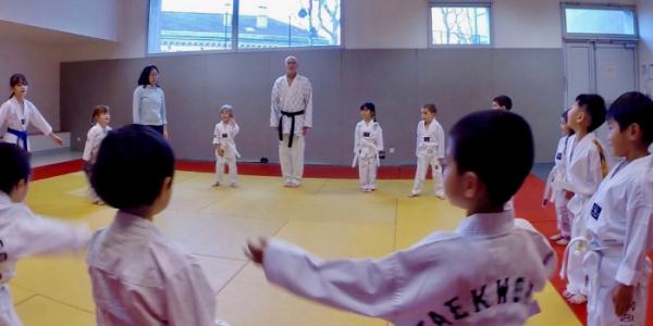 baby taekwondo
